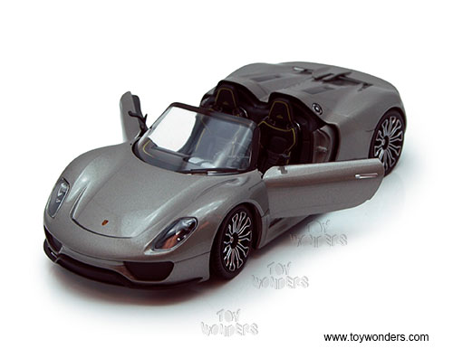 porsche 918 spyder convertible by welly 1 24 scale diecast. Black Bedroom Furniture Sets. Home Design Ideas