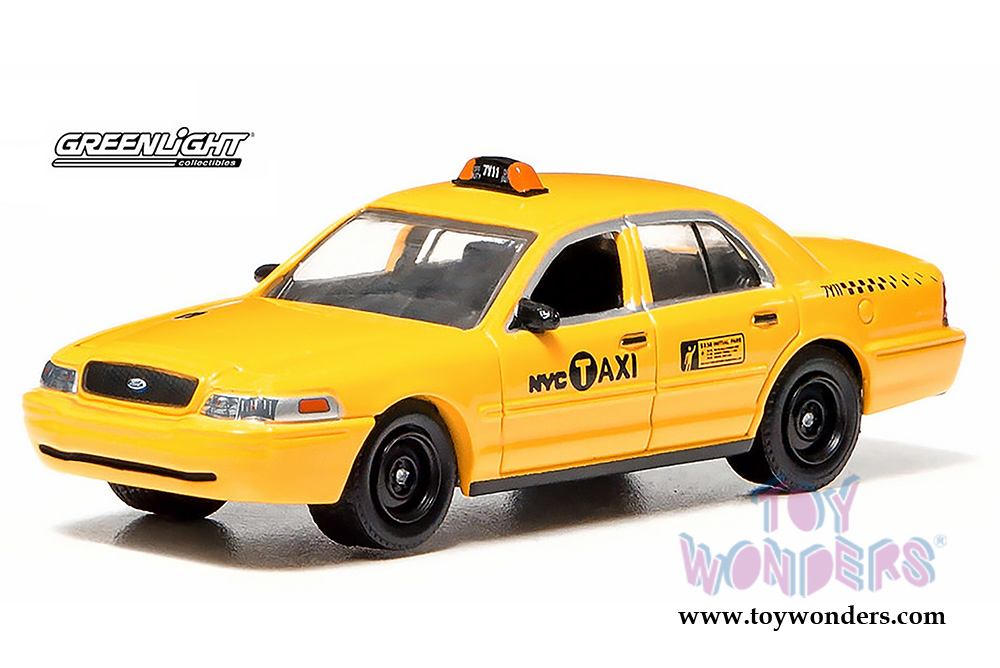 2011 ford crown victoria nyc taxi cab 29773 1 64 scale for Ford models nyc