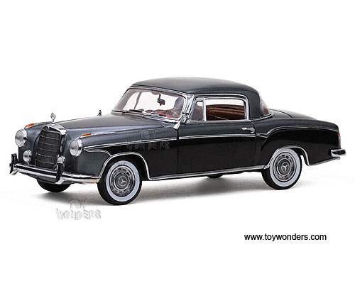 1958 mercedes benz 220se coupe hard top by sun star for Sun motor cars mercedes
