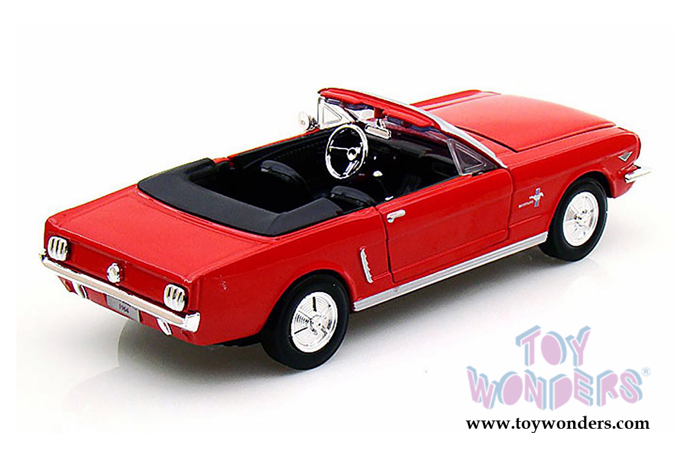 1964 ford mustang convertible by showcasts collectibles 1. Black Bedroom Furniture Sets. Home Design Ideas