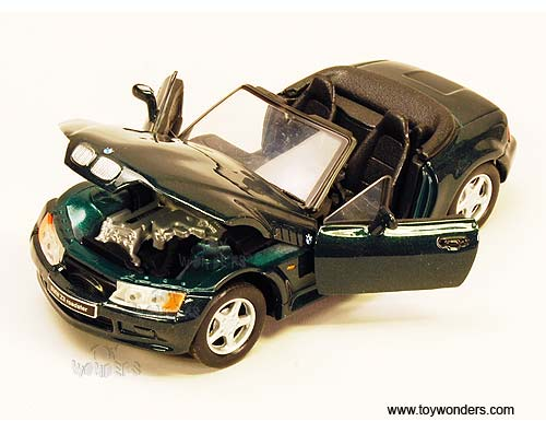 Bmw Z3 Convertible By Showcasts 1 24 Scale Diecast Model
