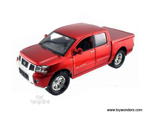 2006 nissan titan pickup by jada toys high profile 1 24. Black Bedroom Furniture Sets. Home Design Ideas