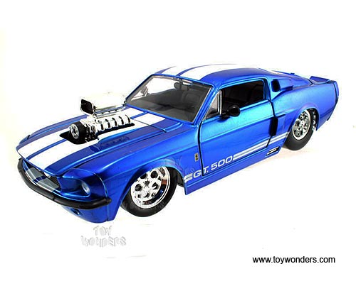 Classic Muscle Cars Mustang With Blowers
