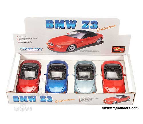 Bmw Z3 Roadster Convertible By Welly 1 24 Scale Diecast Model Car Wholesale 9379c 4d