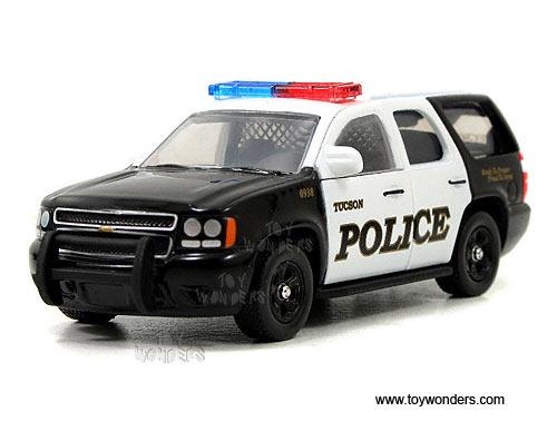 Diecast Police Cars Wave 1 (1/64 scale diecast model car, Asstd