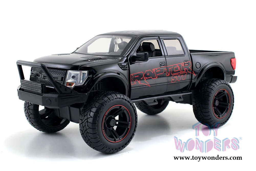 2011 ford f 150 svt raptor pickup 97479 1 24 scale jada toys bigtime kustoms wholesale diecast. Black Bedroom Furniture Sets. Home Design Ideas